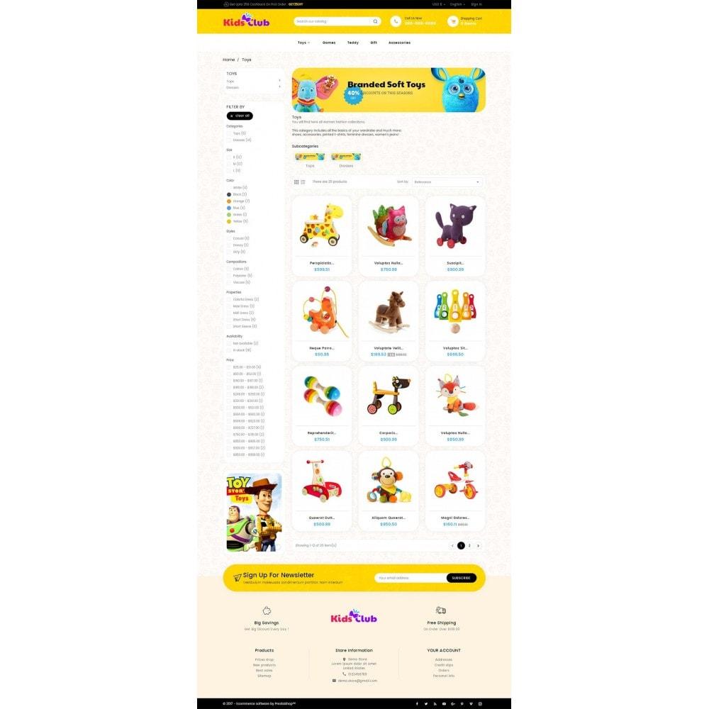 theme - Zabawki & Artykuły dziecięce - Kids Toy Club - 3