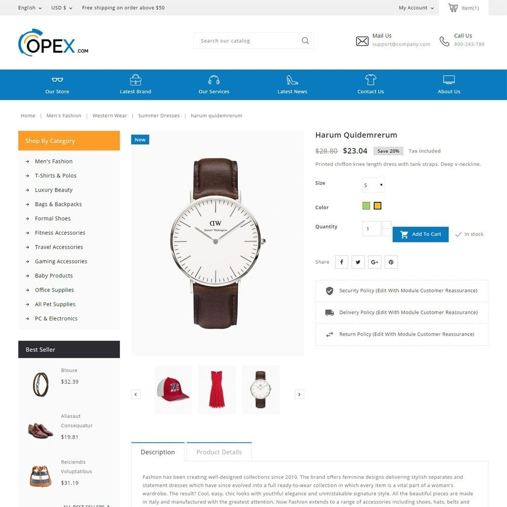 theme - Электроника и компьютеры - Opex Mega Store - 4