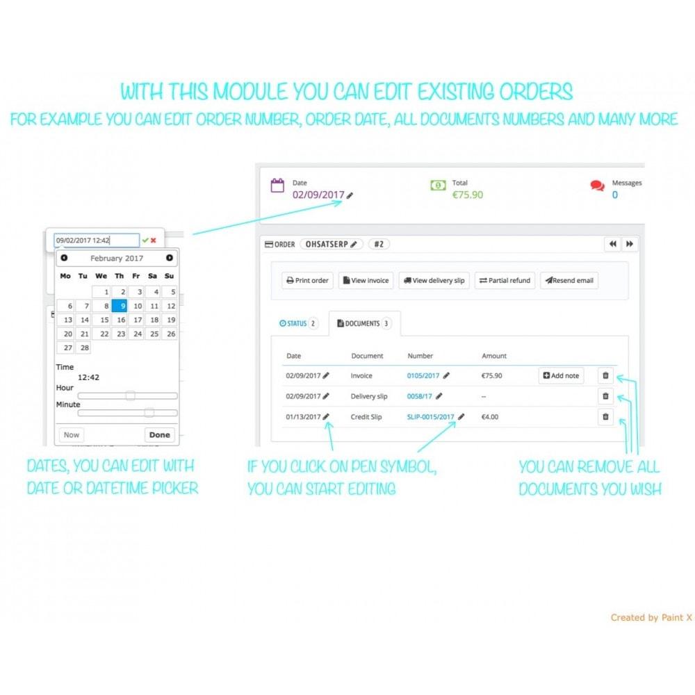 module - Gestione Ordini - Gestione avanzata degli ordini e numeri dei documenti - 1