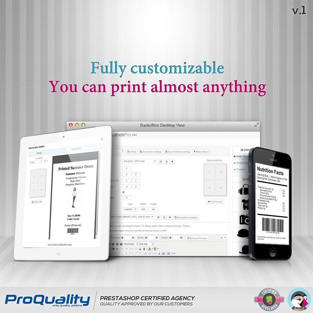 module - Kommissionierung & Versand - Print Product Labels Pro - 2