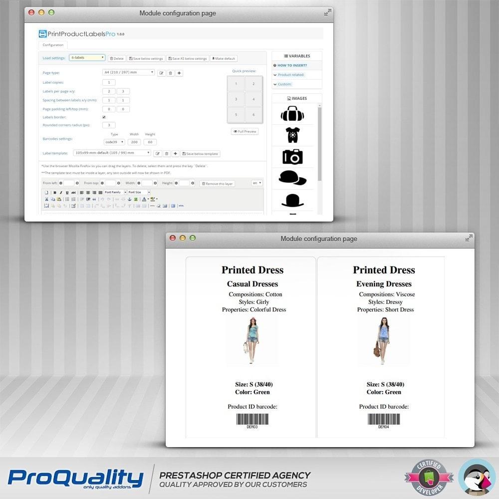 module - Kommissionierung & Versand - Print Product Labels Pro - 6