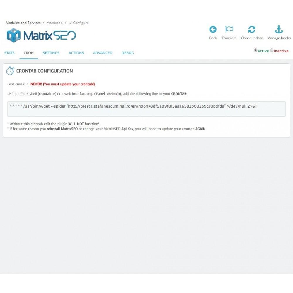 module - SEO (référencement naturel) - Matrix SEO - 5