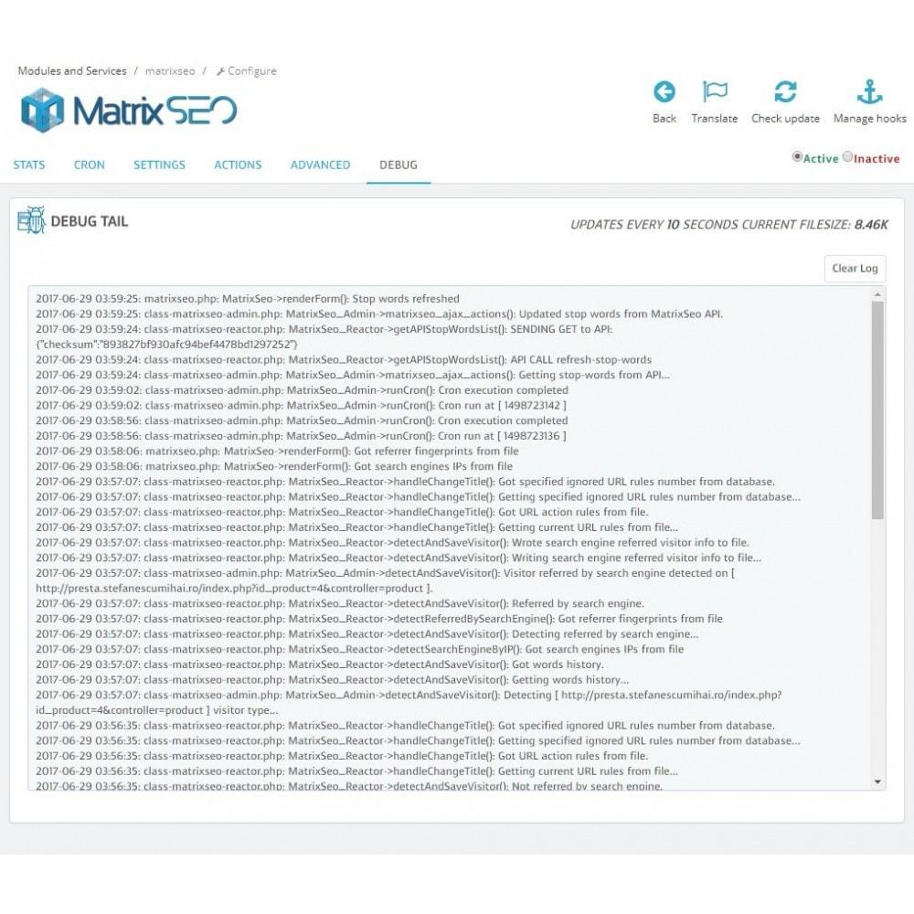 module - SEO (référencement naturel) - Matrix SEO - 6