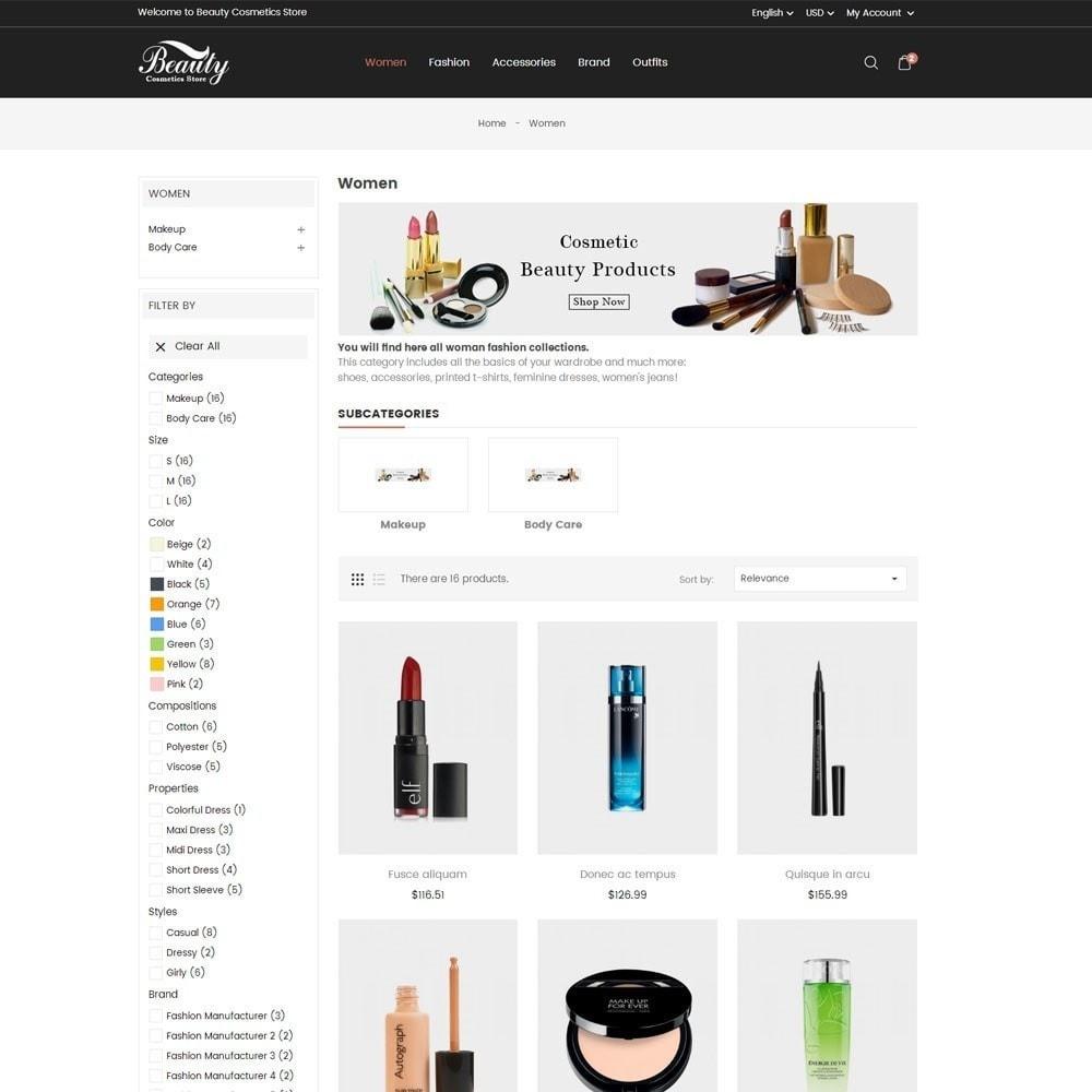 theme - Salud y Belleza - Beauty Cosmetics Store - 5