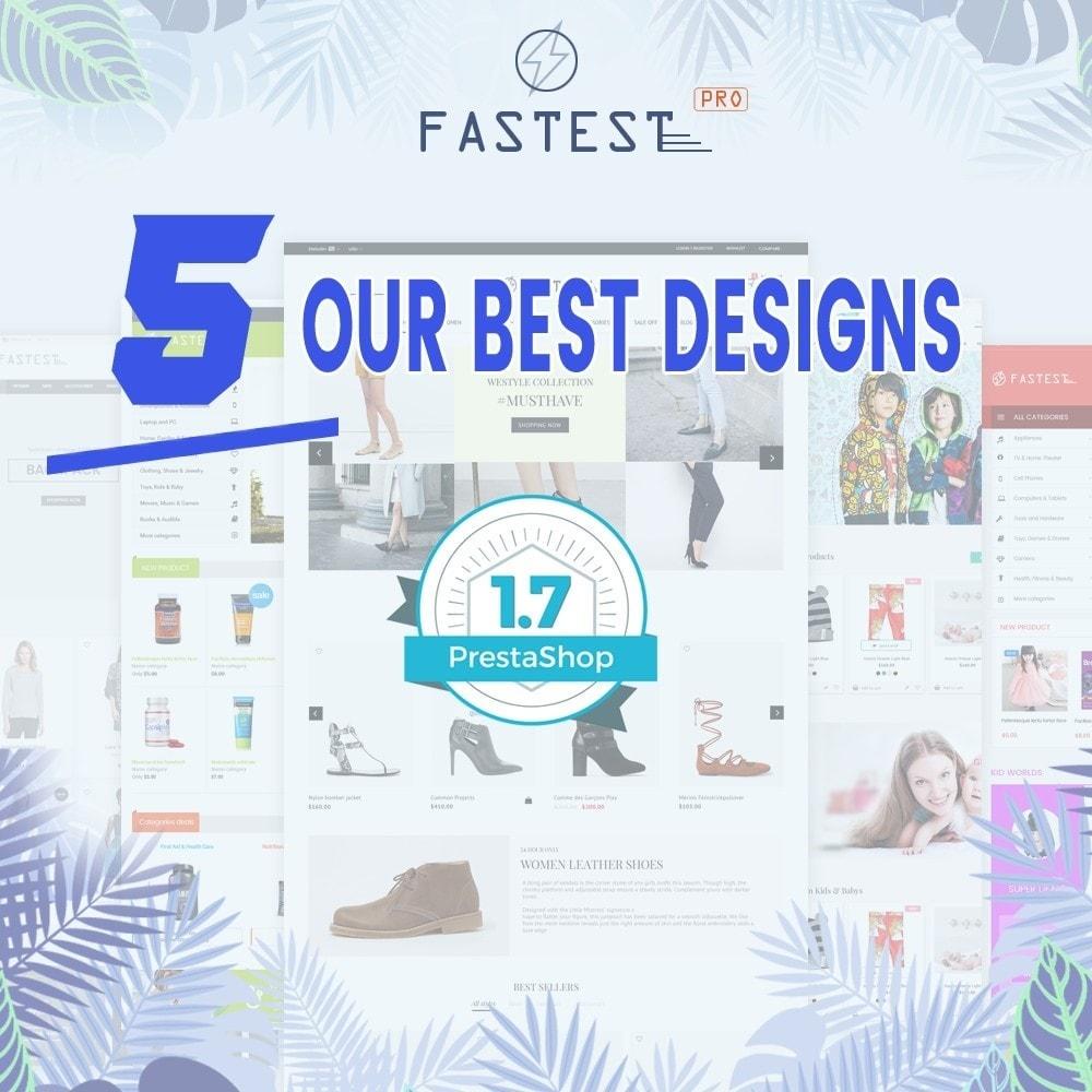 theme - Mode & Schoenen - Fastest - Fashion & Accessories Multi Purpose-5 design - 1