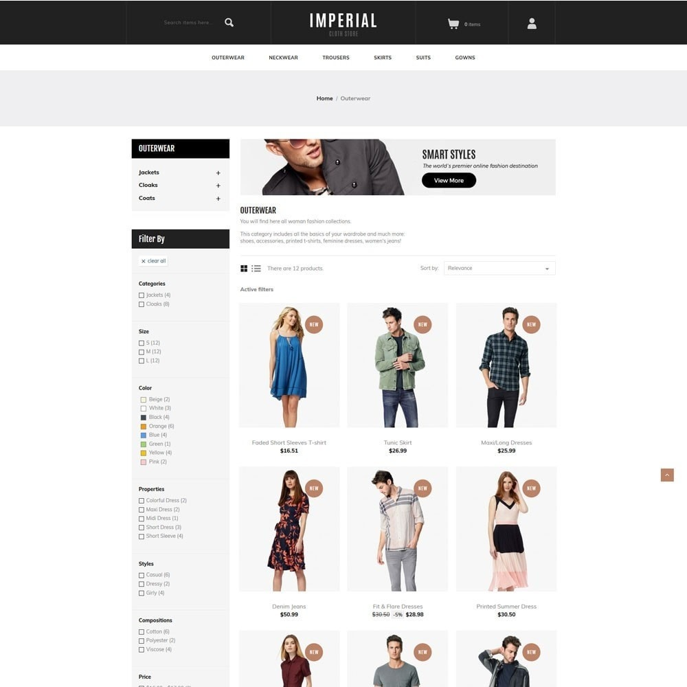 theme - Mode & Chaussures - Imperial - Fashion Store - 4