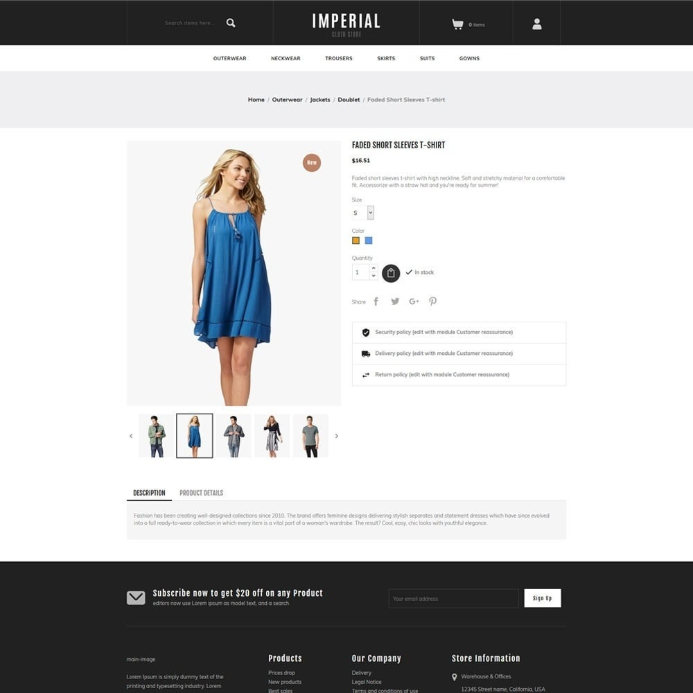 theme - Mode & Chaussures - Imperial - Fashion Store - 5