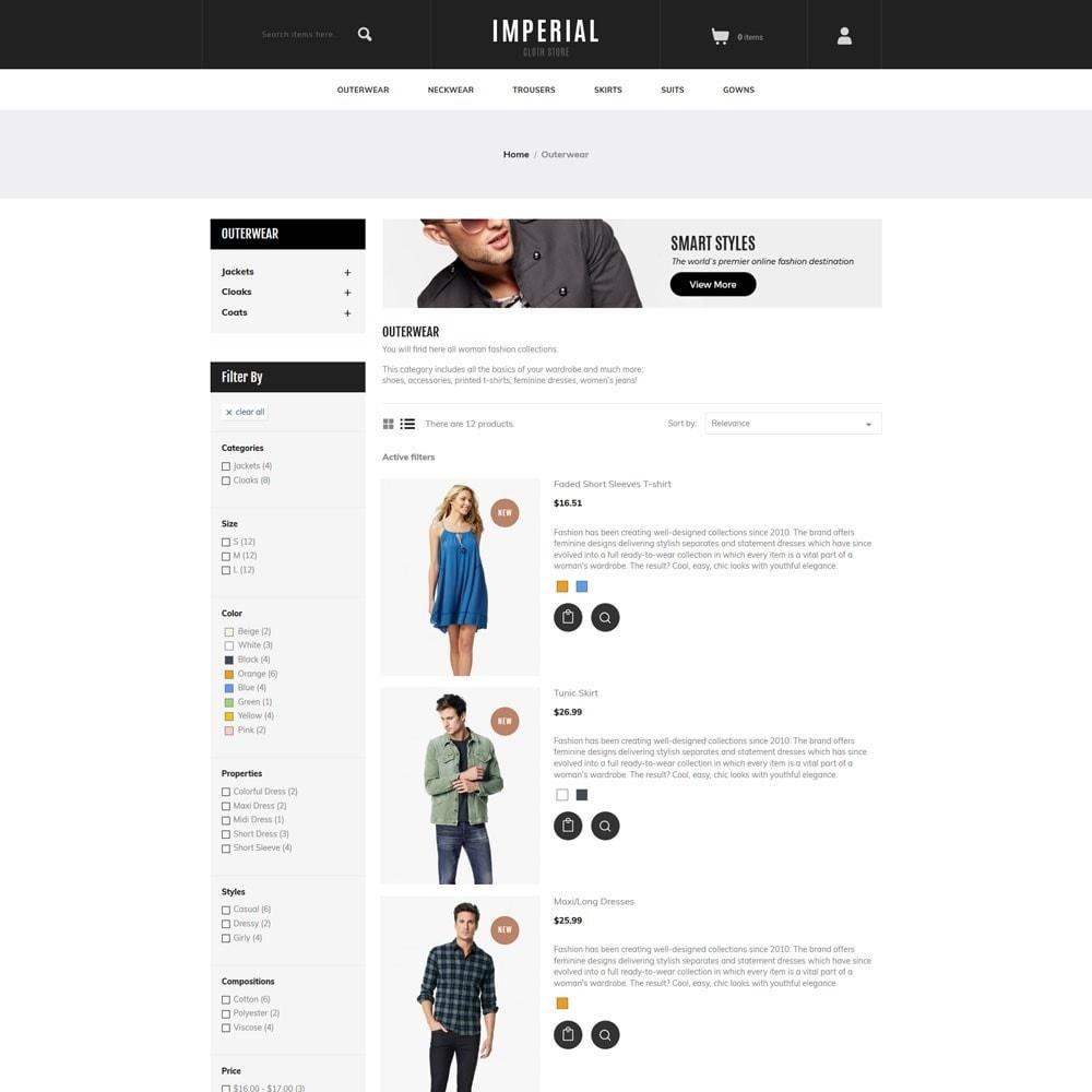 theme - Moda & Obuwie - Imperial - Fashion Store - 6