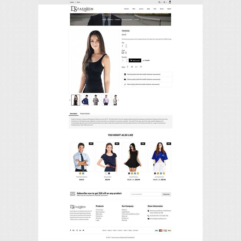 theme - Moda y Calzado - DS - Fashion Store - 4