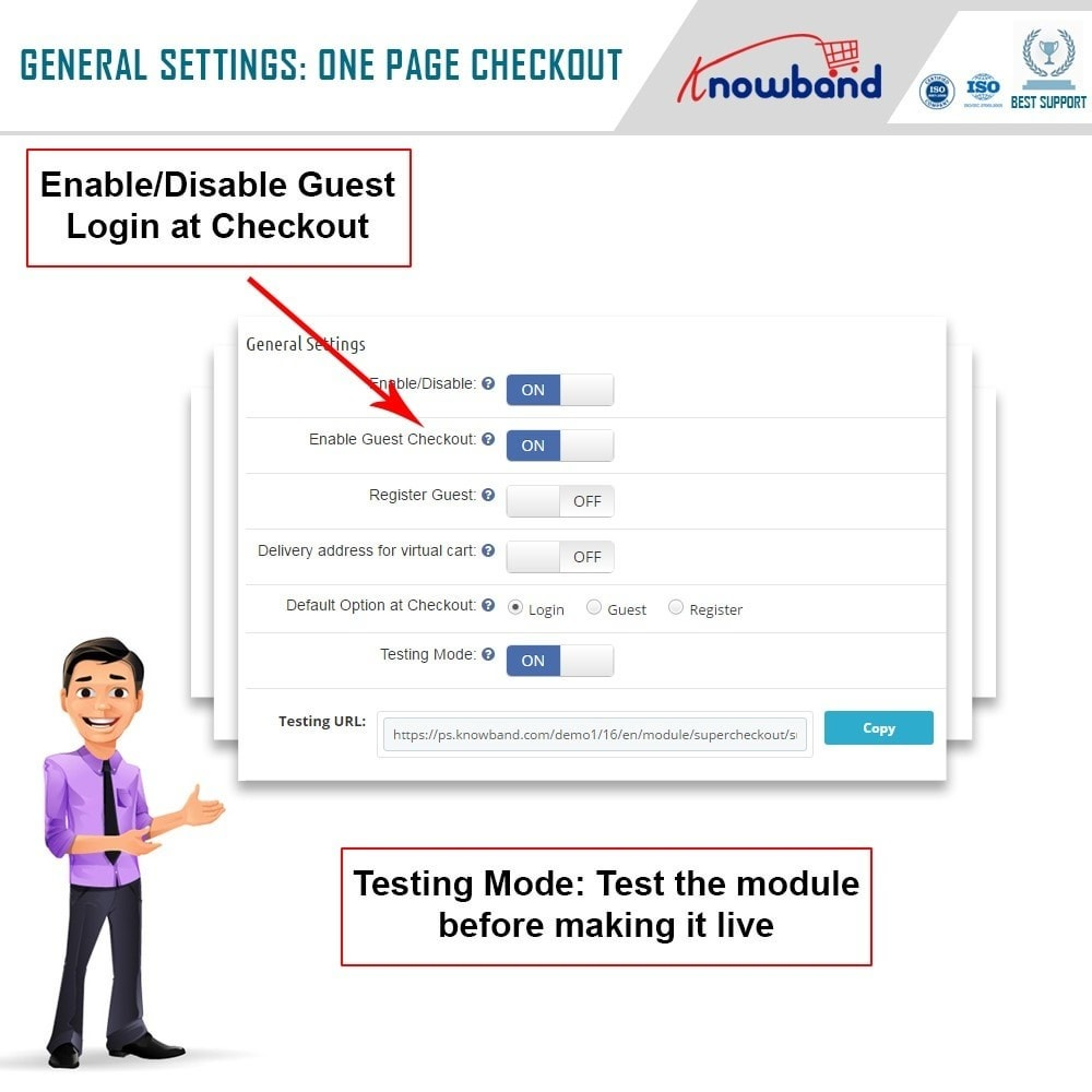 module - Express Checkout Process - Knowband - One Page Checkout, Social Login & Mailchimp - 13