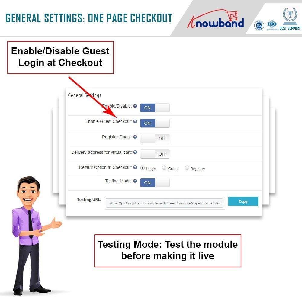 module - Express Checkout Process - One Page Checkout, Social Login & Mailchimp - 17