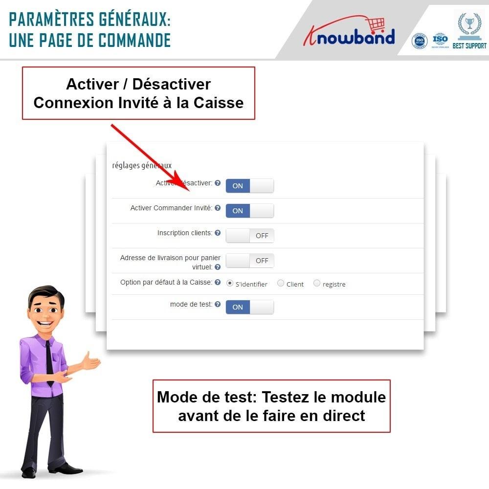 module - Processus rapide de commande - One Page Checkout, Social Login & Mailchimp - 9