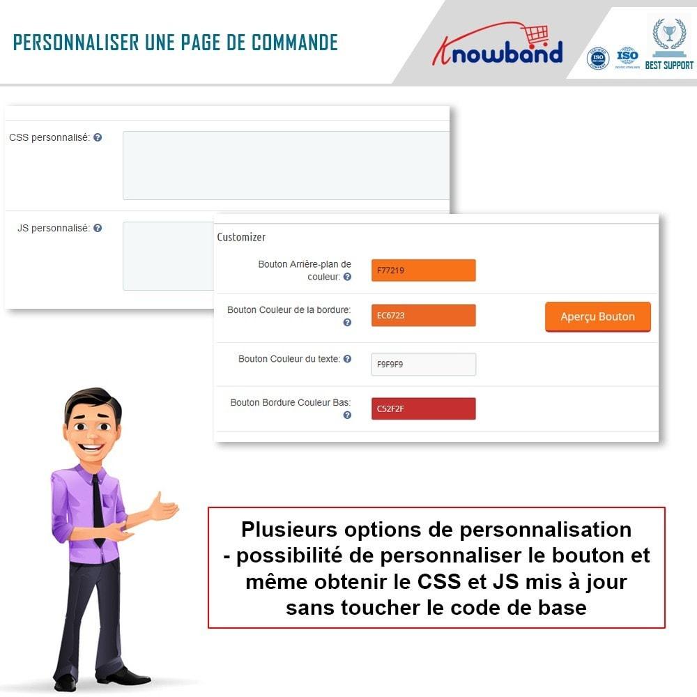 module - Processus rapide de commande - Knowband - One Page Checkout, Social Login & Mailchimp - 14