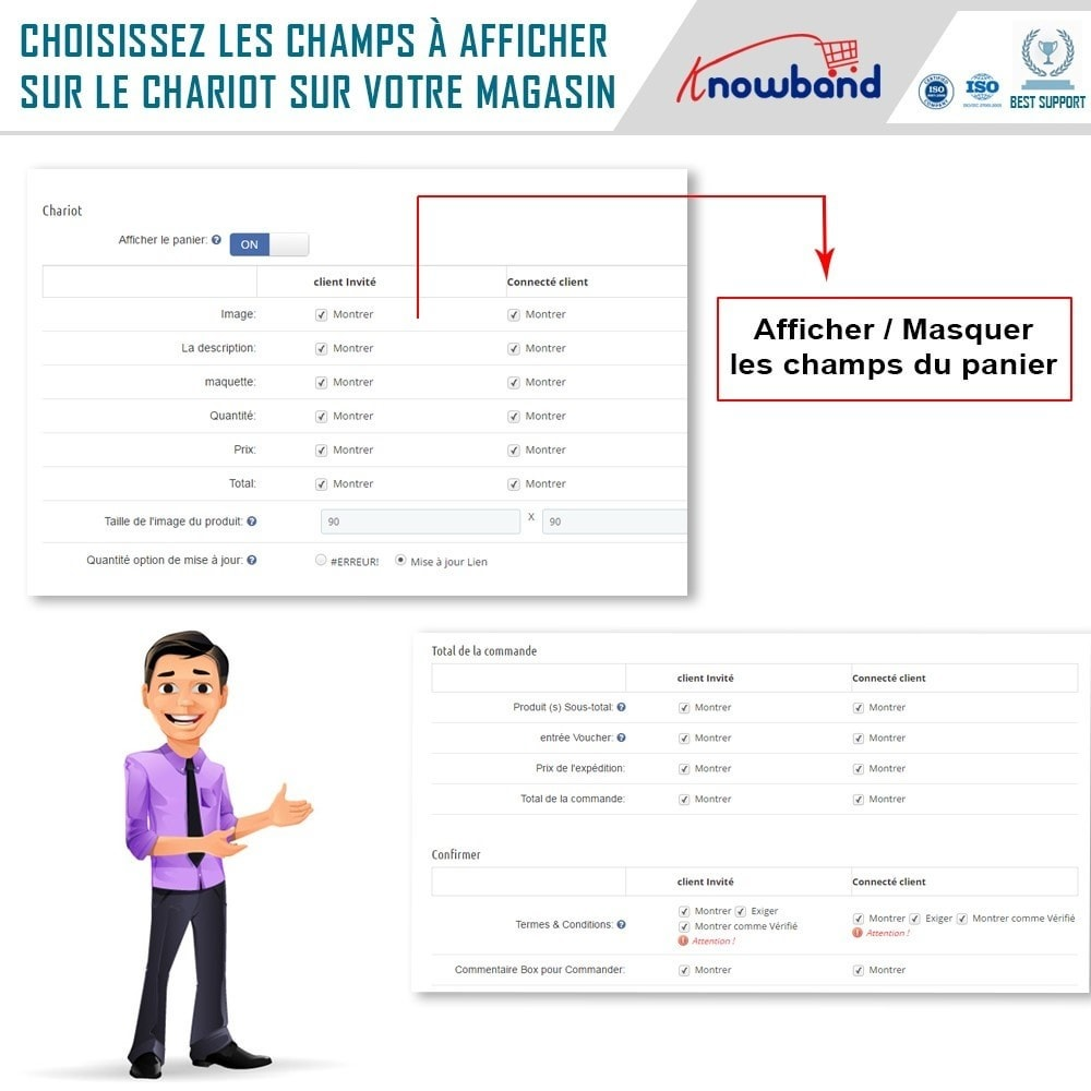 module - Processus rapide de commande - One Page Checkout, Social Login & Mailchimp - 14