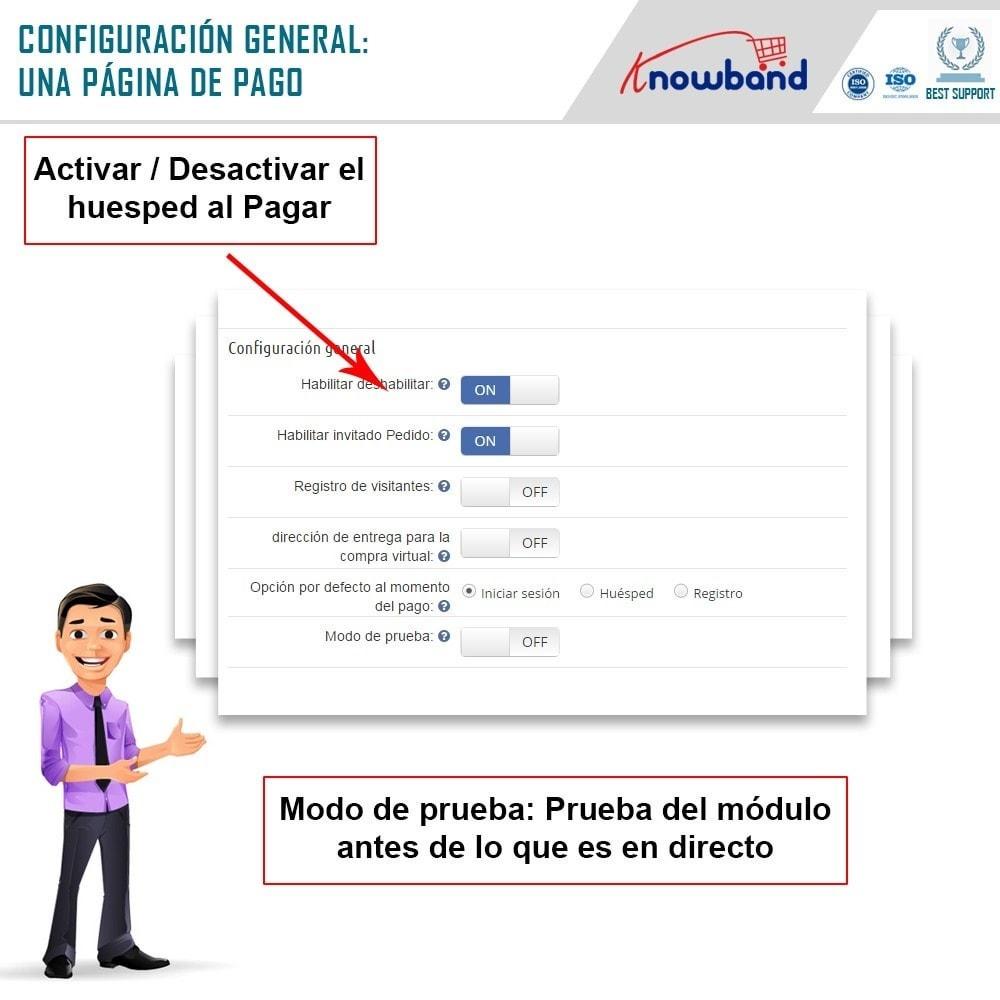 module - Proceso rápido de compra - Knowband - One Page Checkout, Social Login & Mailchimp - 13