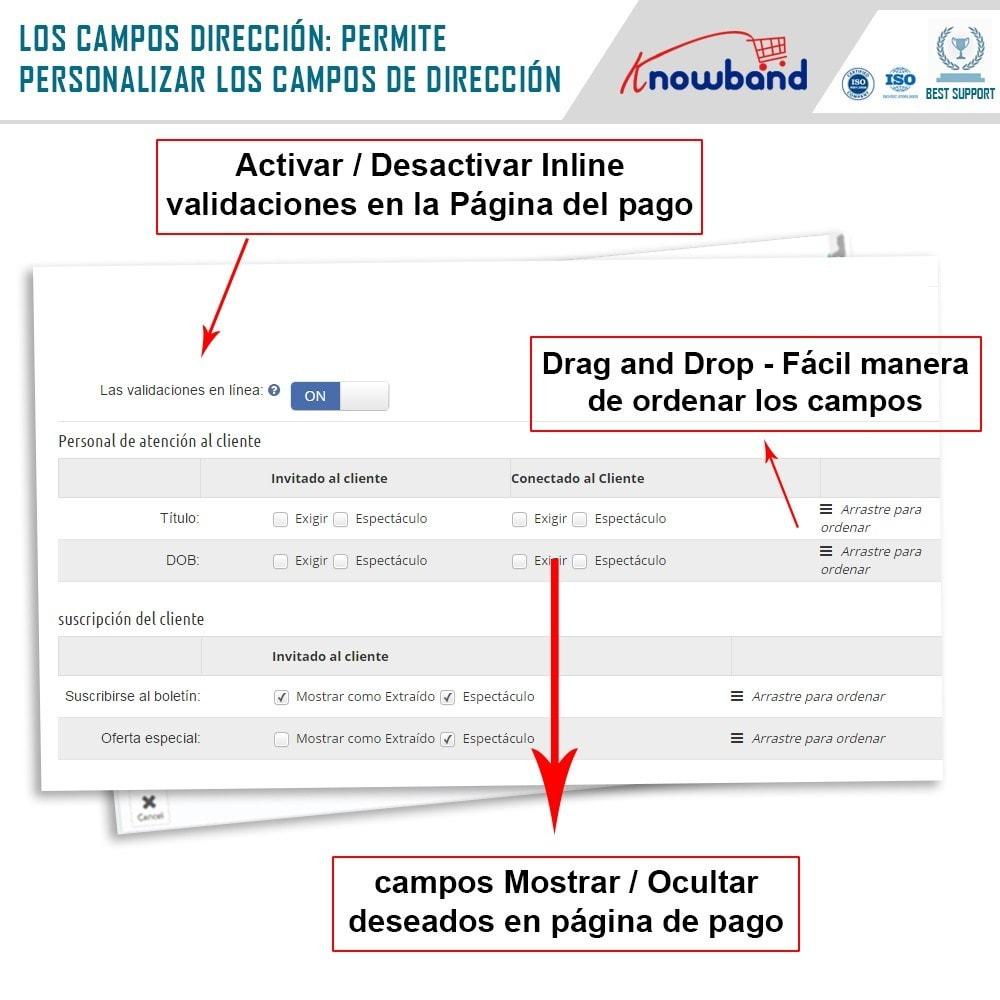 module - Proceso rápido de compra - One Page Checkout, Social Login & Mailchimp - 12