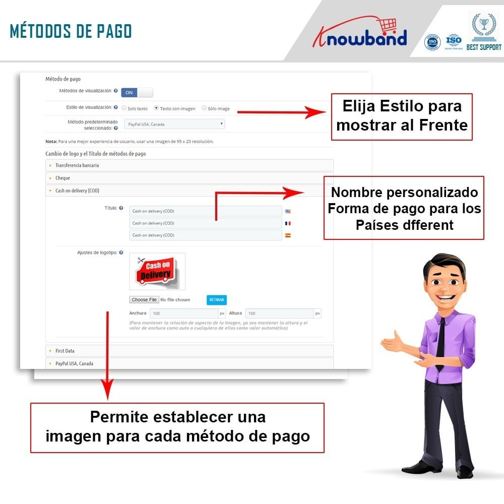 module - Proceso rápido de compra - Knowband - One Page Checkout, Social Login & Mailchimp - 17