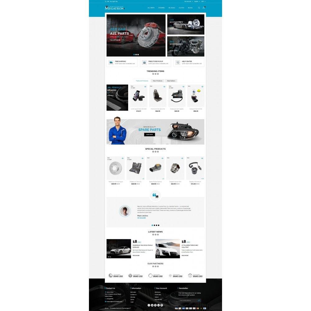 theme - Automotive & Cars - Megatron - Autoparts - 2