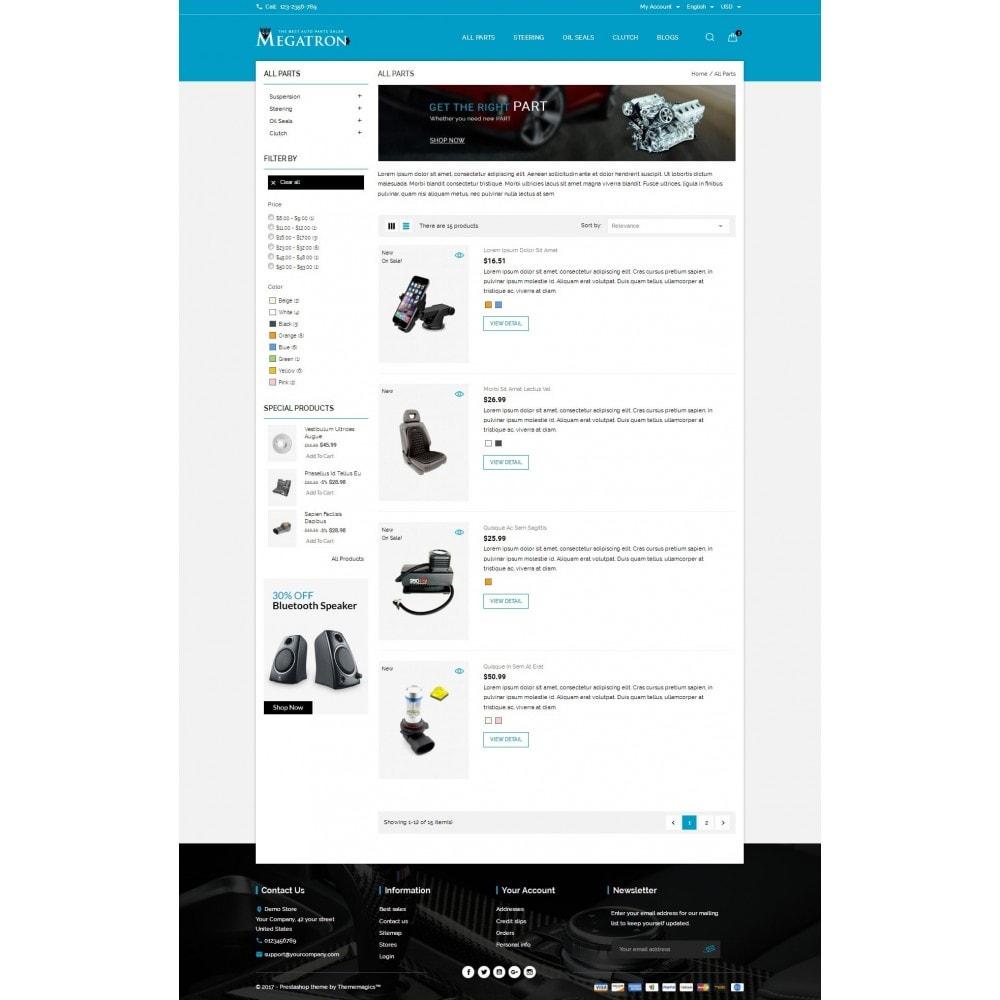 theme - Auto & Moto - Megatron - Autoparts - 4