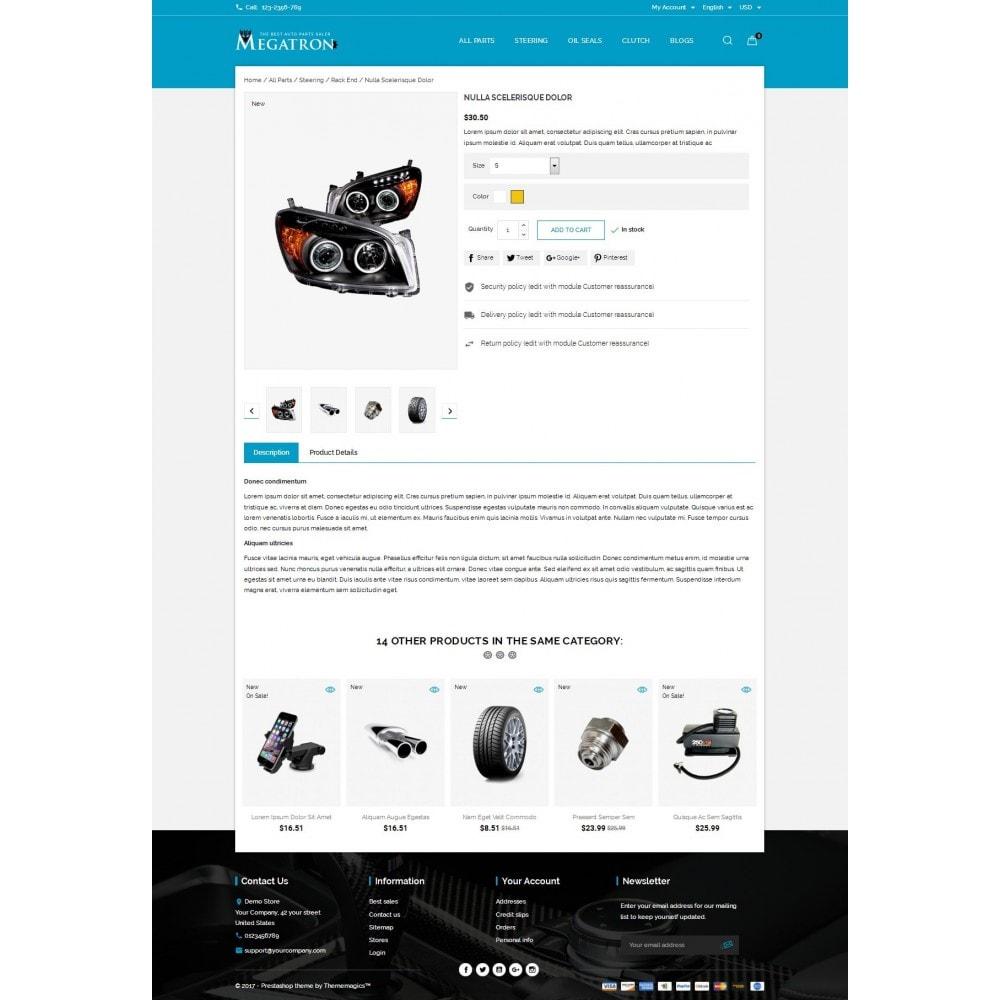 theme - Auto & Moto - Megatron - Autoparts - 5