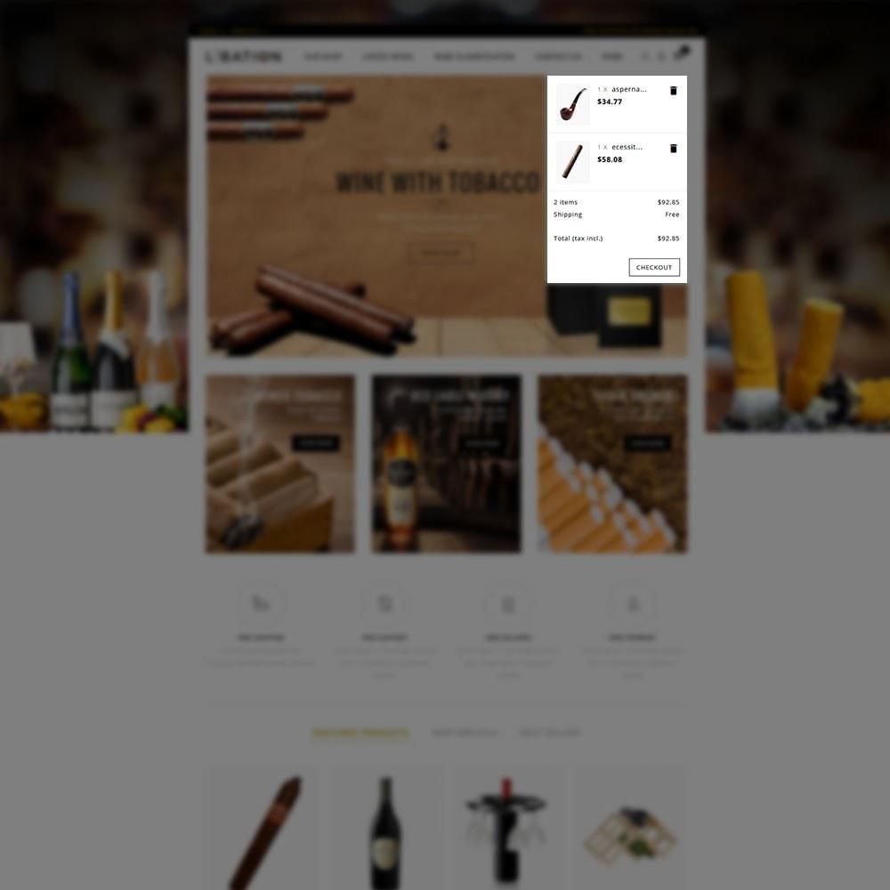 theme - Drink & Wine - Libation Wine Store - 7