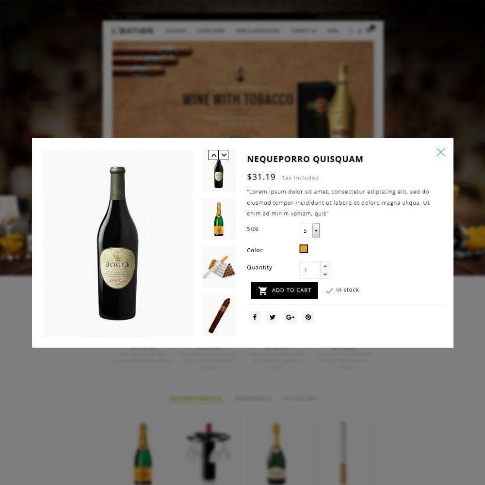 theme - Drink & Wine - Libation Wine Store - 8