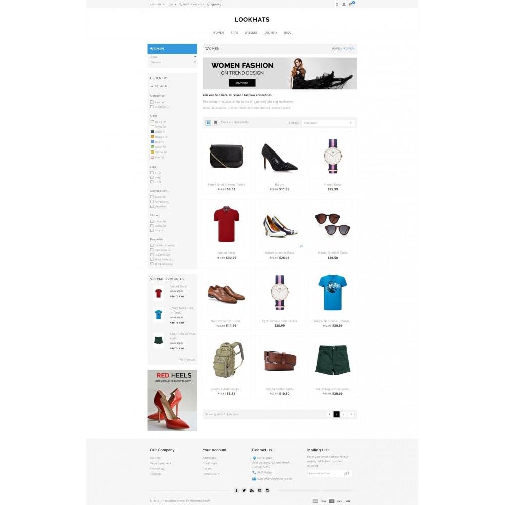 theme - Mode & Schuhe - Lookhats - Fashion Store - 3