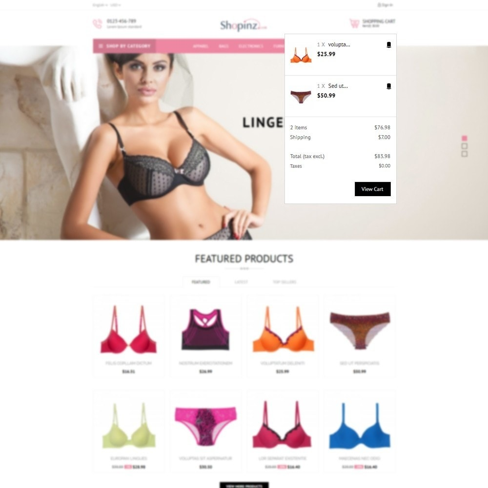 theme - Moda & Calzature - Lingerie Store - 8