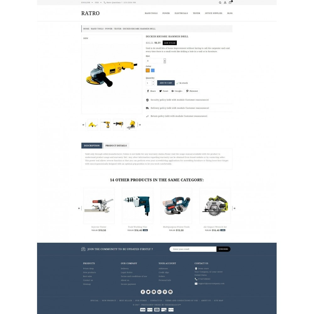 theme - Coches y Motos - Ratro - Tools shop - 5