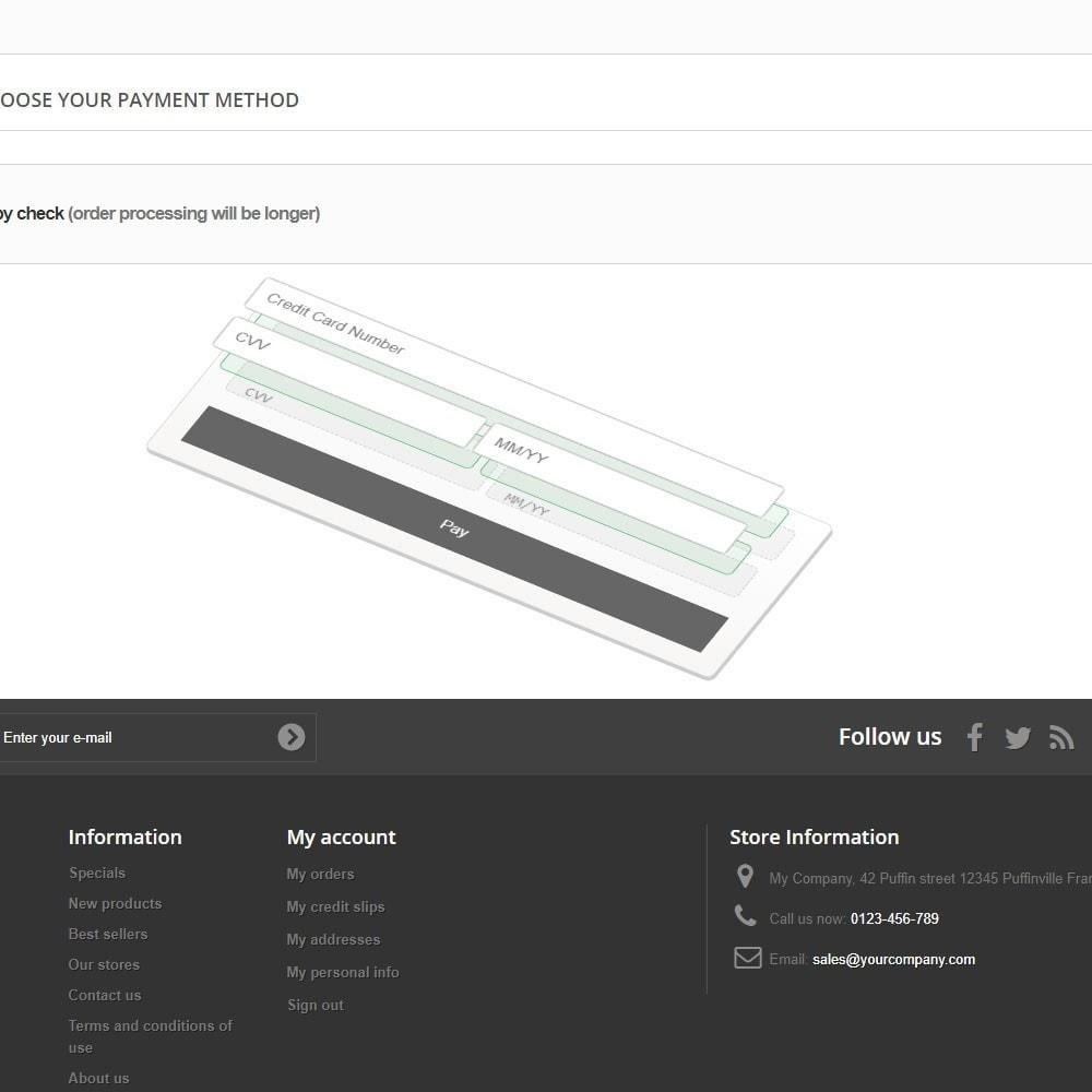 module - Pago con Tarjeta o Carteras digitales - PayPal Braintree - 4