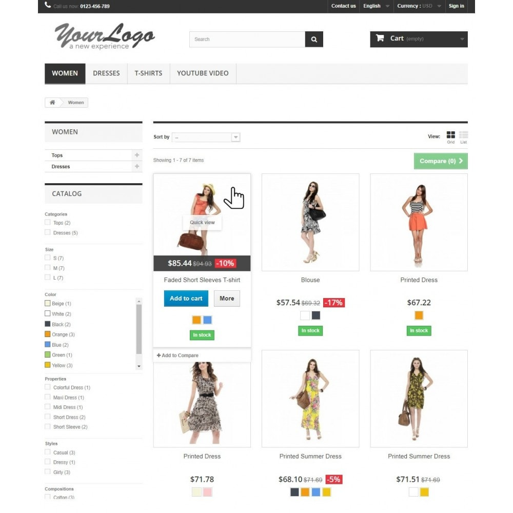 module - Produktvisualisierung - Rollover Product Images - Hover Second Image - 3