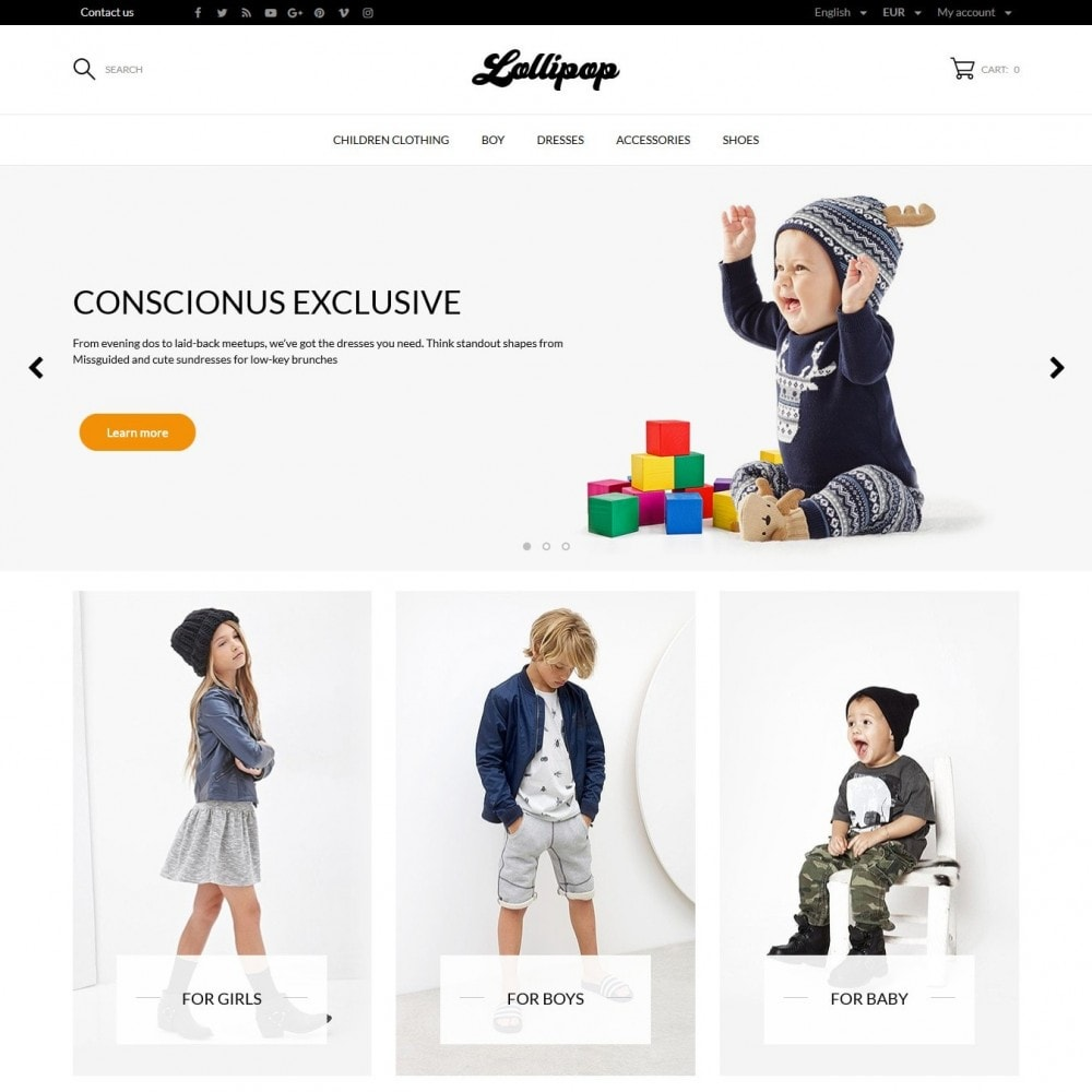 theme - Kids & Toys - Lollipop - 2