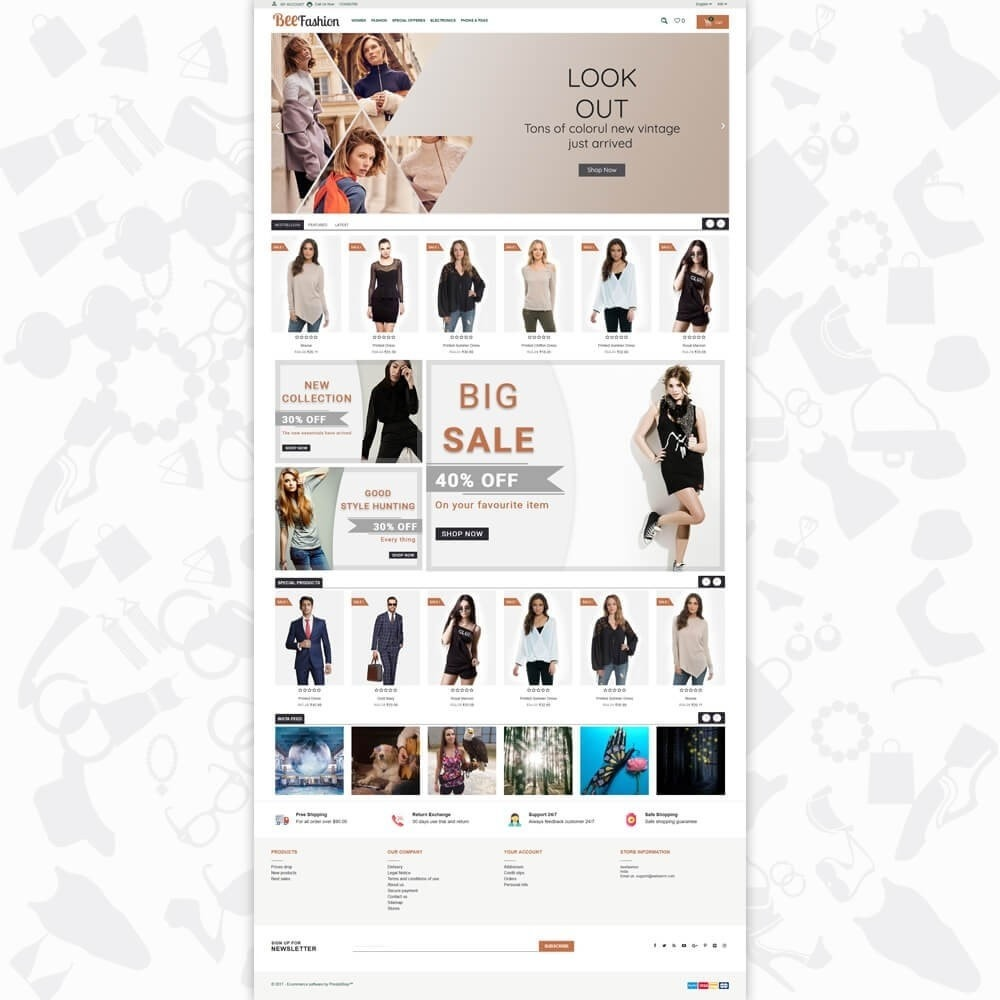 theme - Fashion & Shoes - Bee Fashion - 2