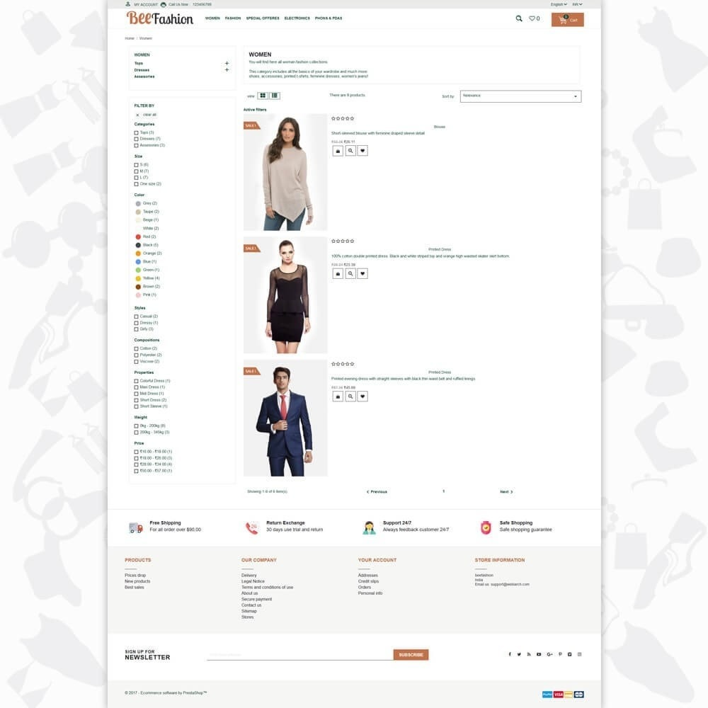 theme - Fashion & Shoes - Bee Fashion - 3