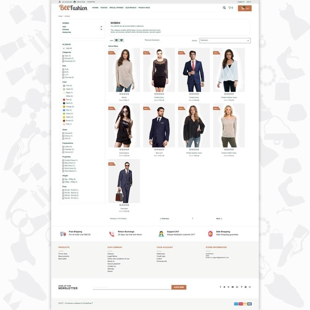 theme - Fashion & Shoes - Bee Fashion - 4