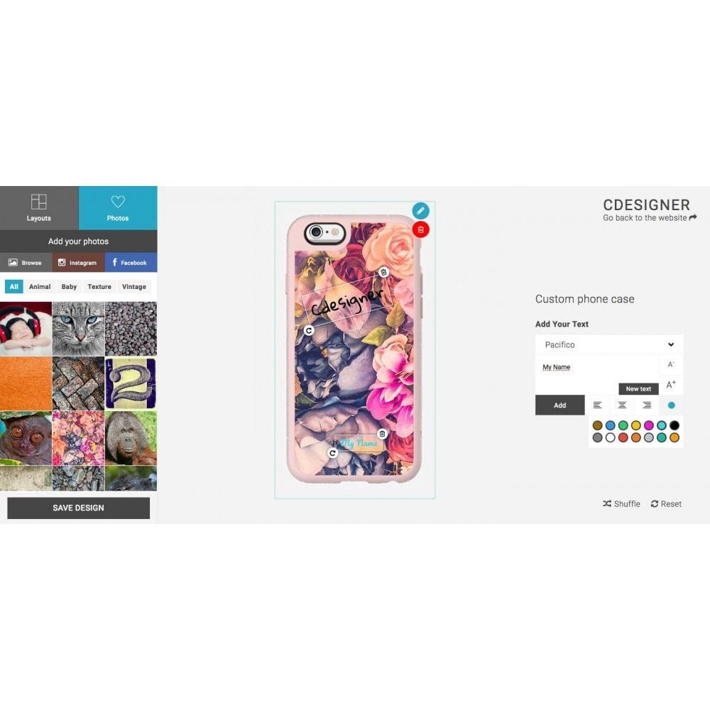 module - Combinazioni & Personalizzazione Prodotti - Product Customization Designer - Cdesigner Customize - 2