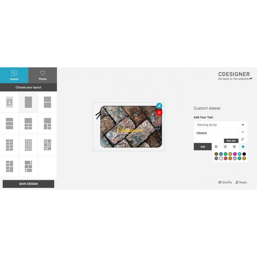 module - Combinazioni & Personalizzazione Prodotti - Product Customization Designer - Cdesigner Customize - 4