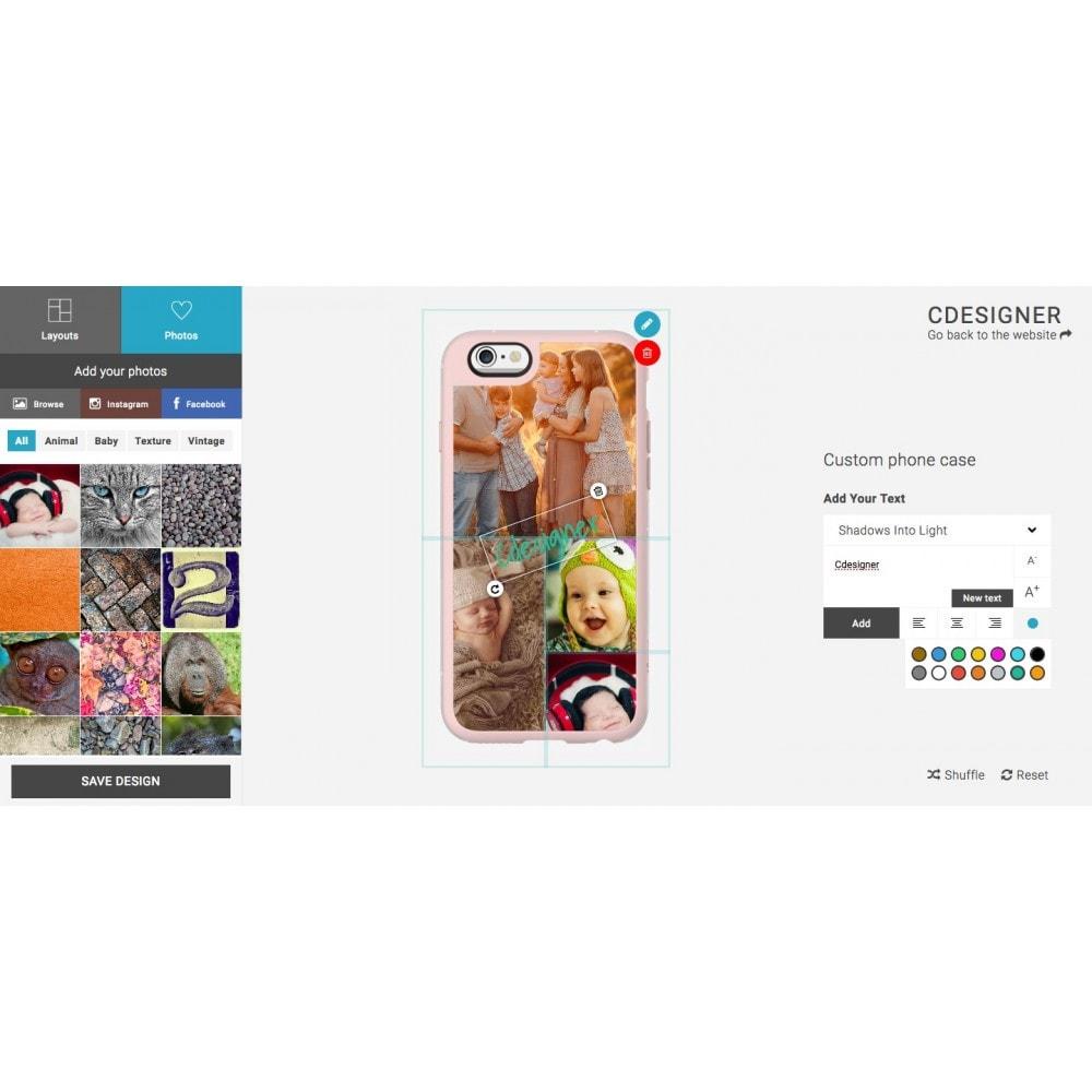 module - Combinazioni & Personalizzazione Prodotti - Product Customization Designer - Cdesigner Customize - 6