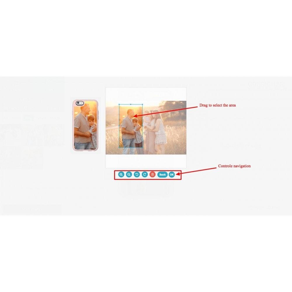 module - Déclinaisons & Personnalisation de produits - Personnalisation de produit - Cdesigner Personnaliser - 7