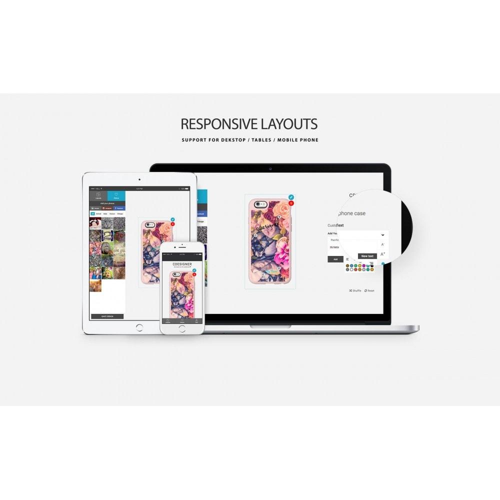 module - Combinazioni & Personalizzazione Prodotti - Product Customization Designer - Cdesigner Customize - 13