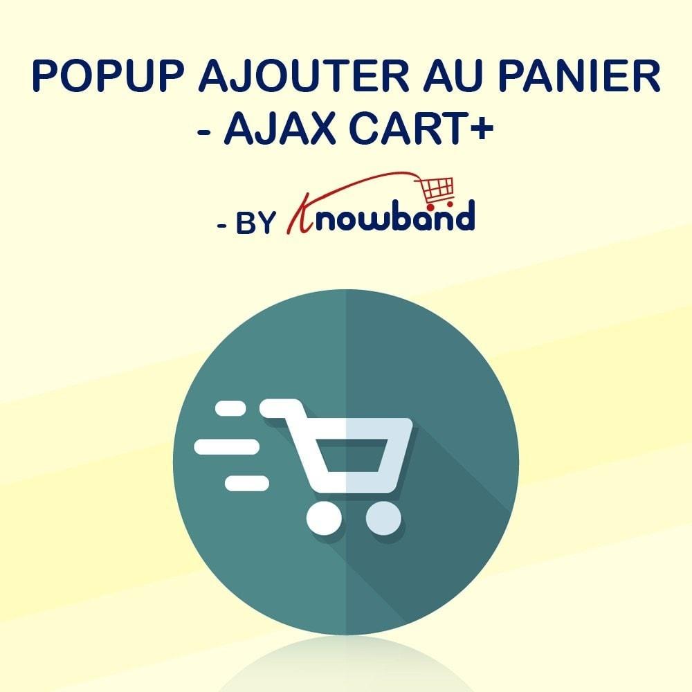 module - Pop-up - Knowband - Popup ajouter au panier - Ajax Cart+ - 1