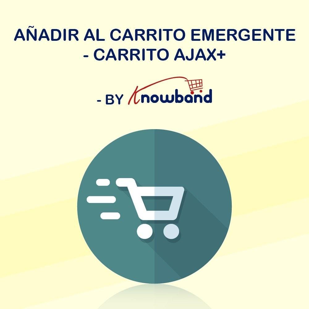 module - Pop-up - Knowband - Añadir al carrito Emergente - Carrito Ajax+ - 1