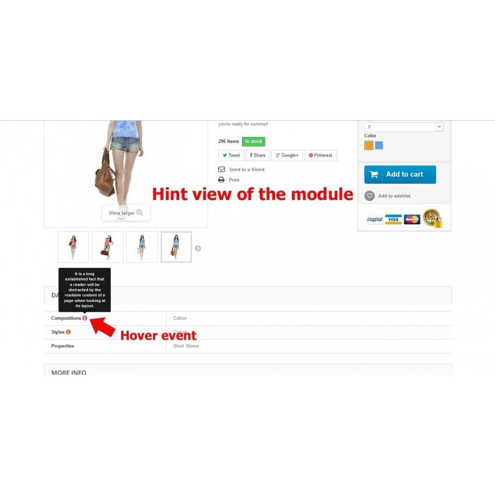 module - Página de producto - Tooltips of features in product page - 8