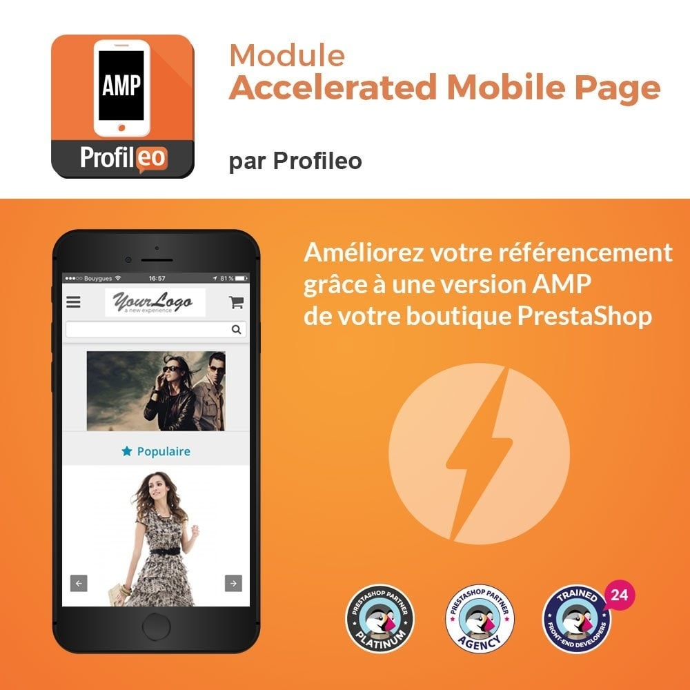 module - Performance du Site - Accelerated Mobile Pages (AMP) PRO - 1