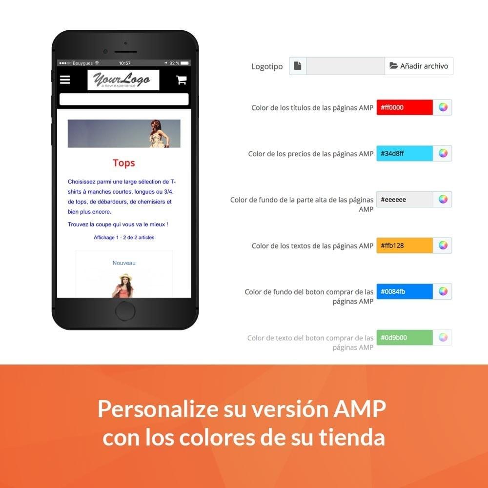 module - Rendimiento del sitio web - Accelerated Mobile Pages (AMP) PRO - 3