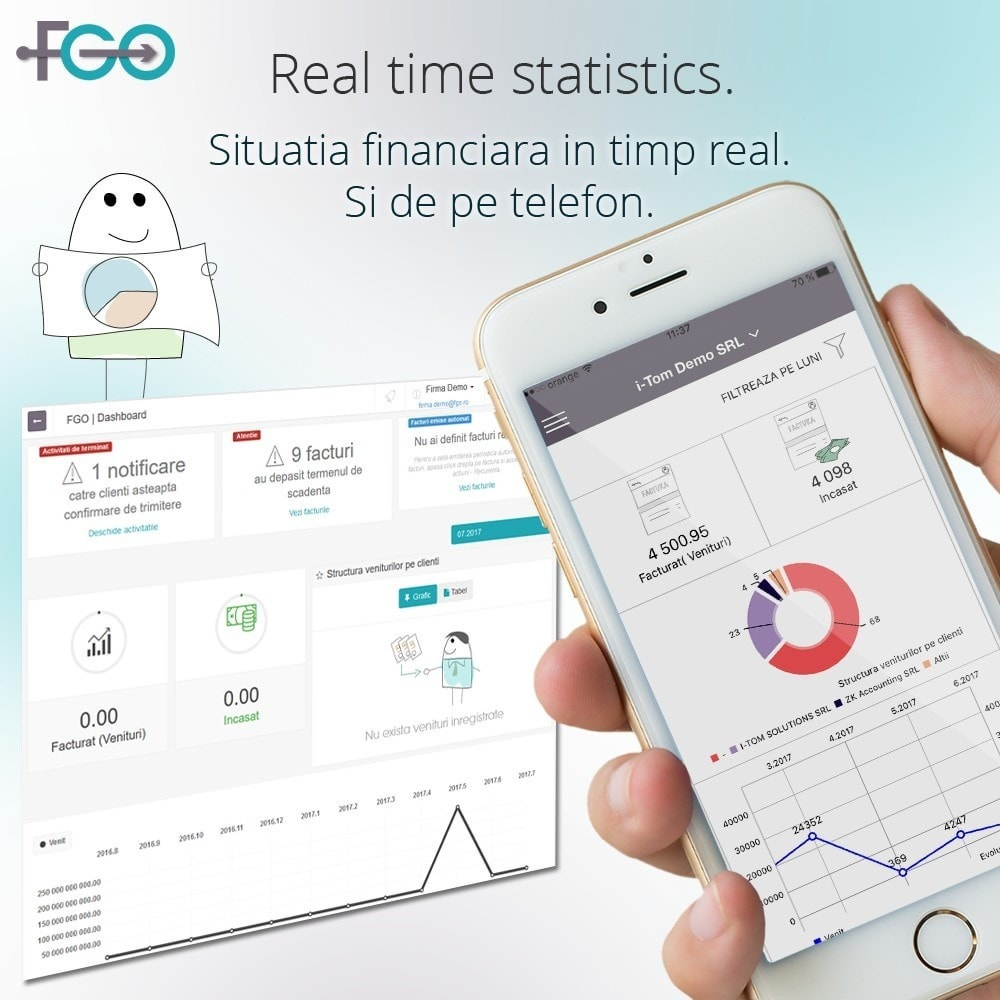module - Boekhouding en fakturatie - FGO Premium – Billing Module – Facturare Magazin Online - 2