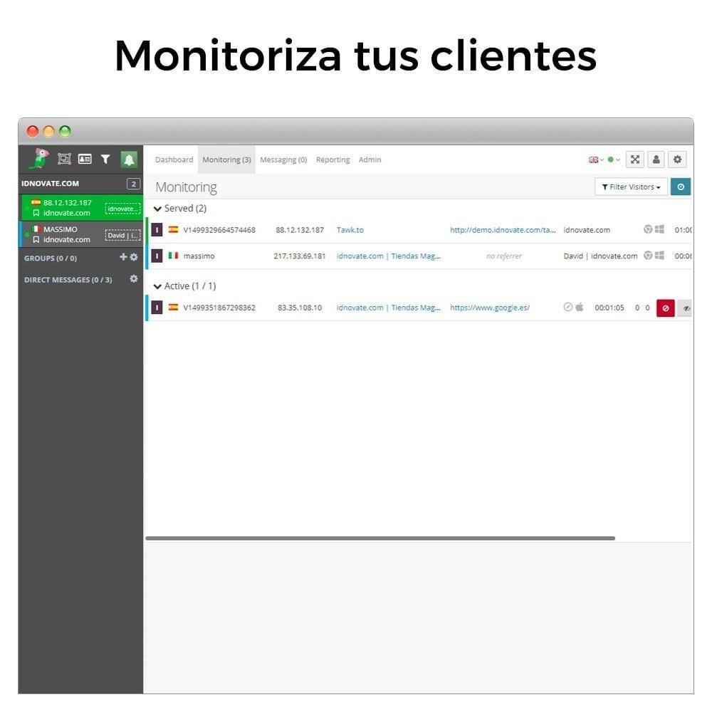 module - Asistencia & Chat online - Tawk.to - Chat integrado en tiempo real - Multilenguaje - 10