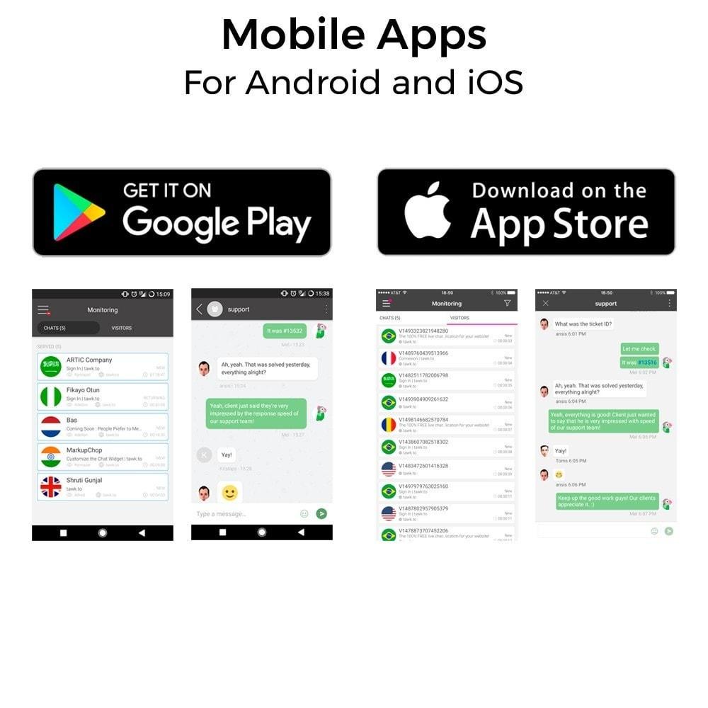 module - Поддержка и онлайн-чат - Tawk.to - The Best Free Livechat - Multilanguage - 6