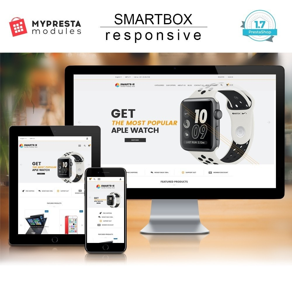 theme - Elektronika & High Tech - SmartBox - 1