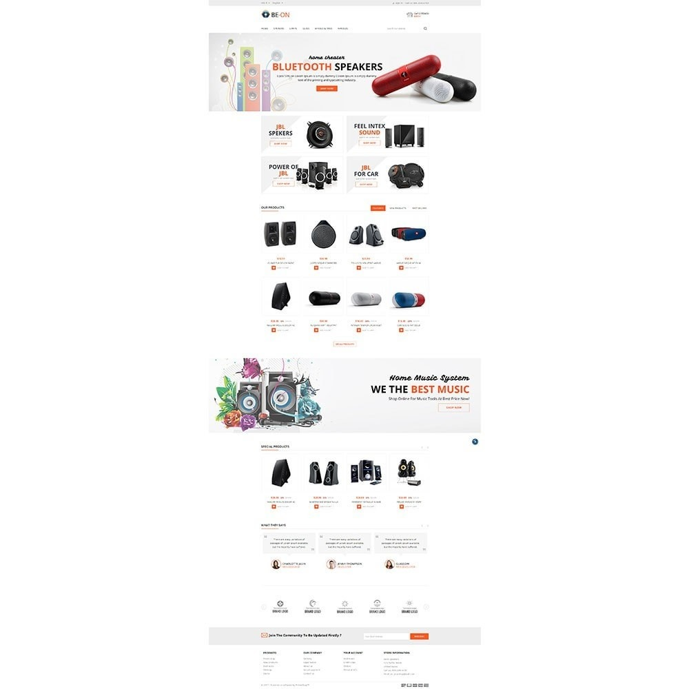 theme - Elettronica & High Tech - Beon Store - 2
